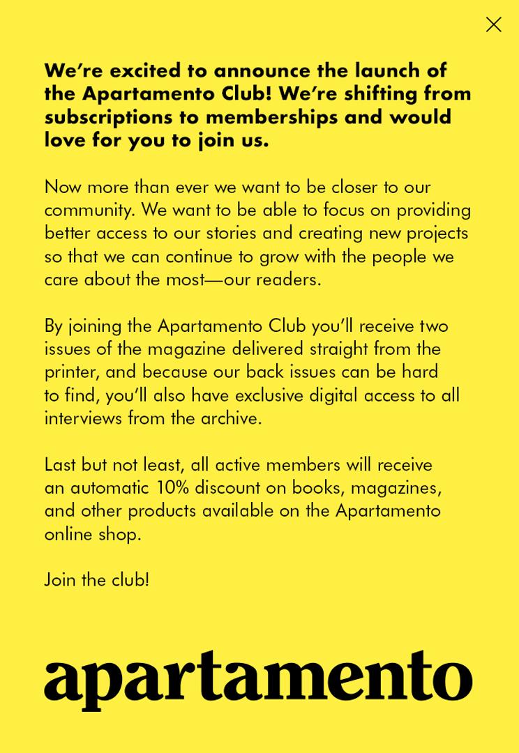 Apartamento Membership
