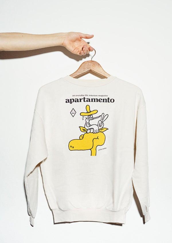 front of Apartamento Sweatshirt