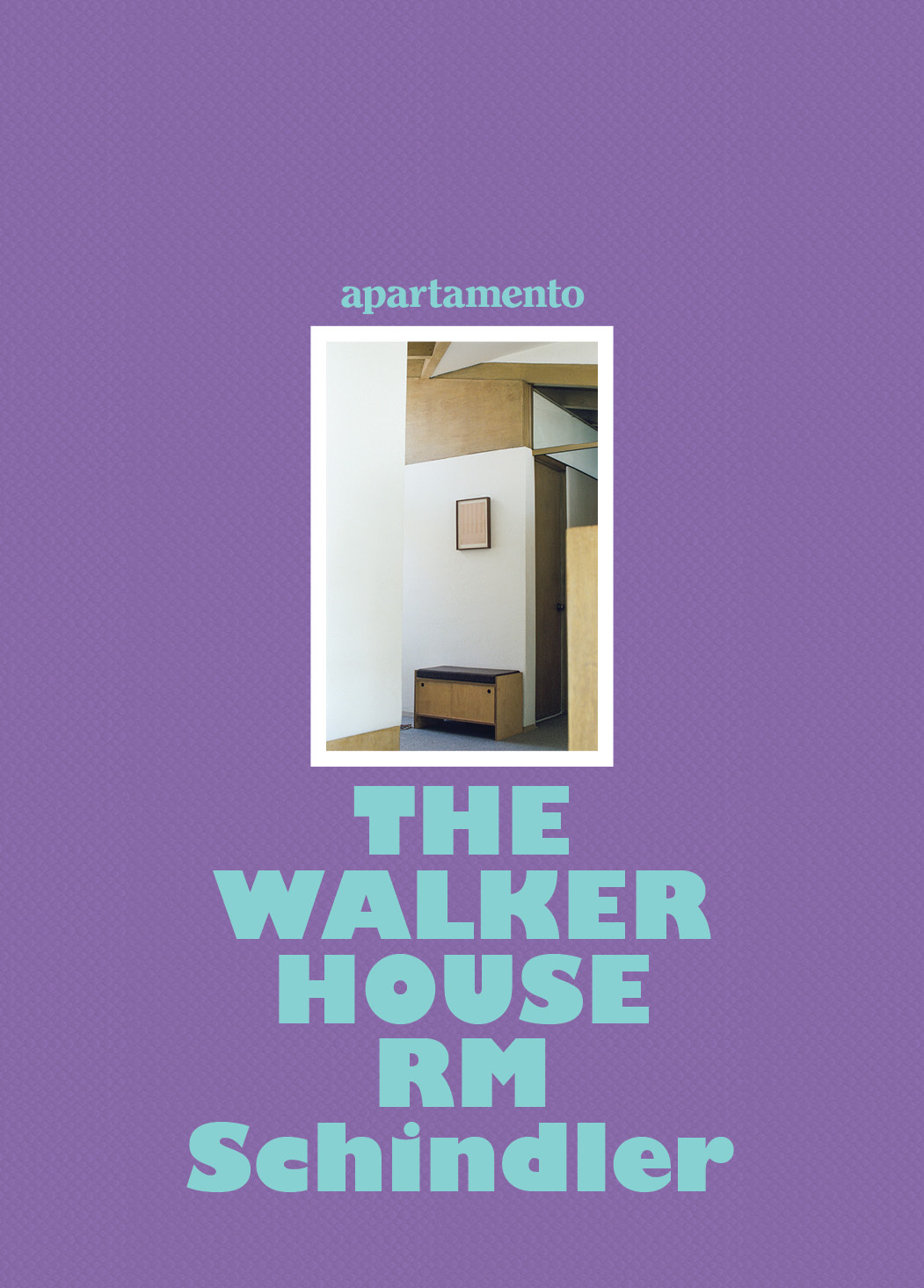 The Walker House RM Schindler Cover