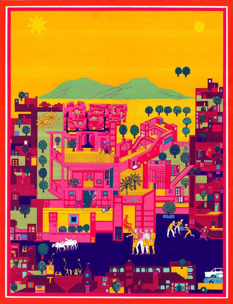 A world of imagination: drawings by BV Doshi |Apartamento Magazine