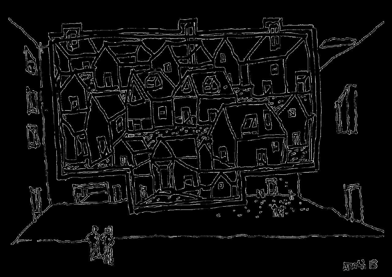 Apartamento Magazine - A world of imagination: drawings by BV Doshi